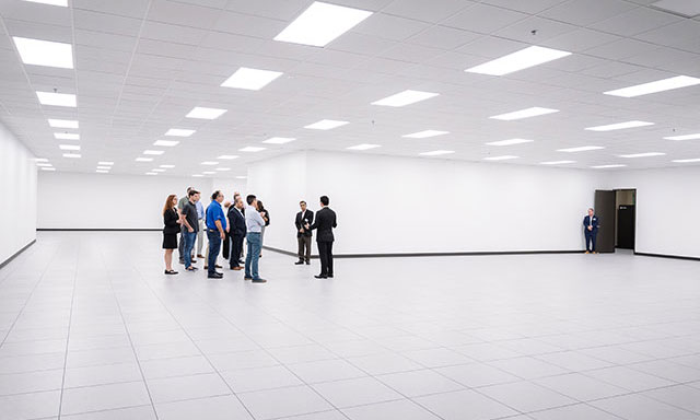 data center tour of new expansion