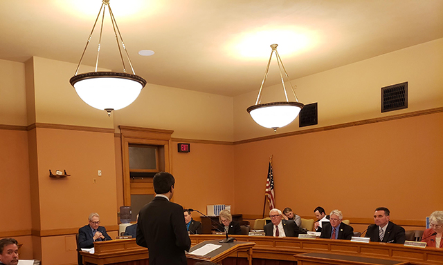 kansas subcommittee testimony by cavern