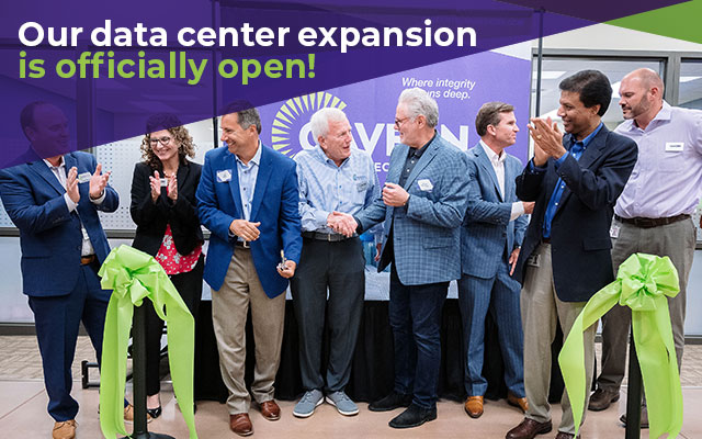 data center expansion grand opening at cavern technologies